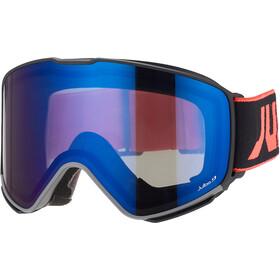 Julbo Quickshift MTB Double Lens 0+2 Goggles, rood/blauw